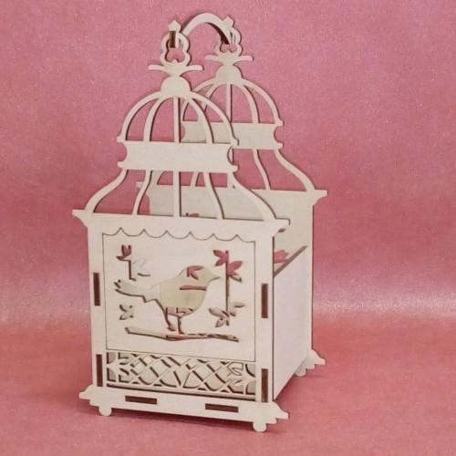 Кашпо Птица в клетке