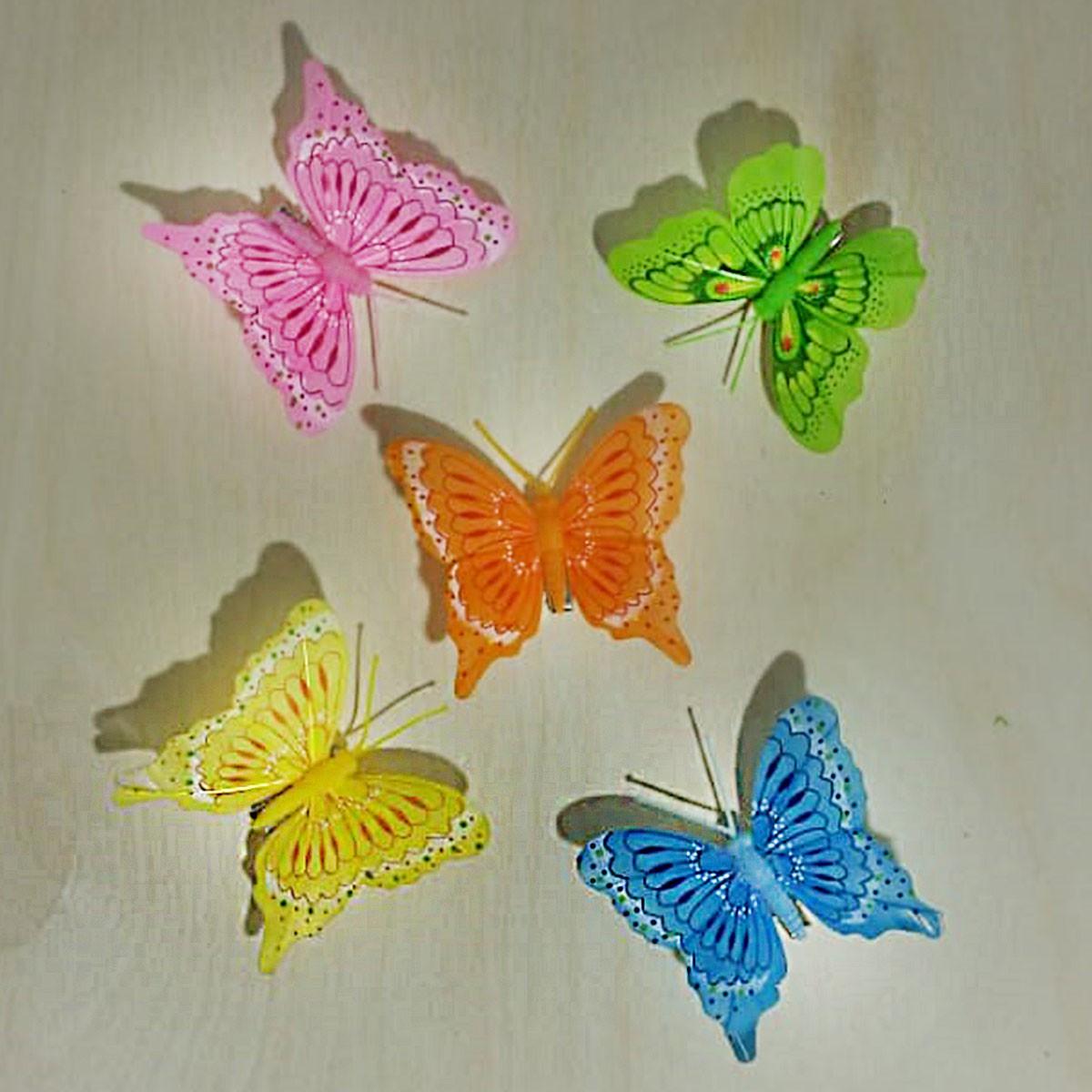 Бабочка на прищепке
