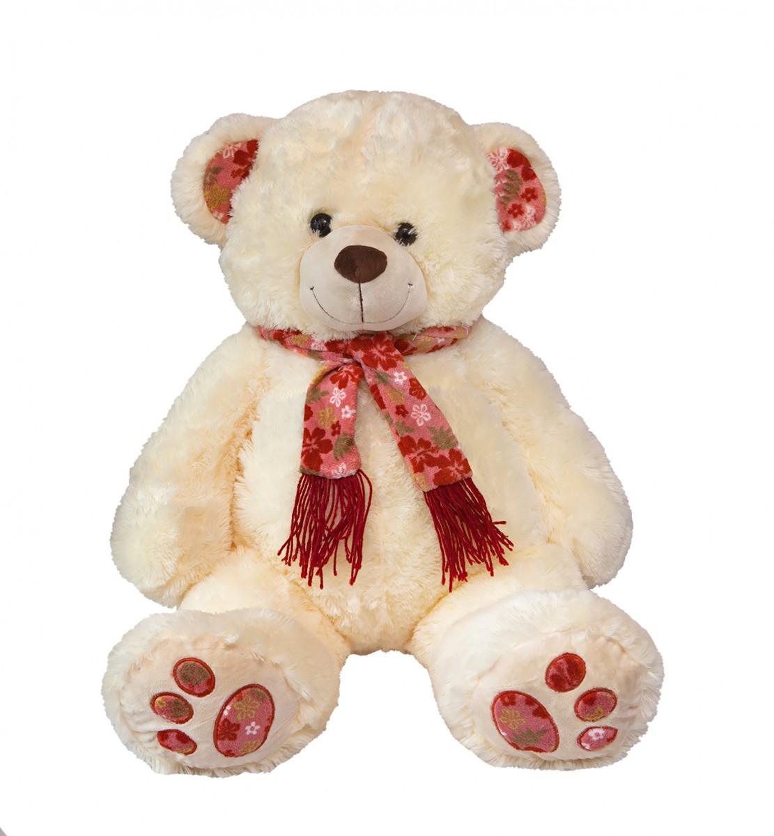 Медведь в шарфе